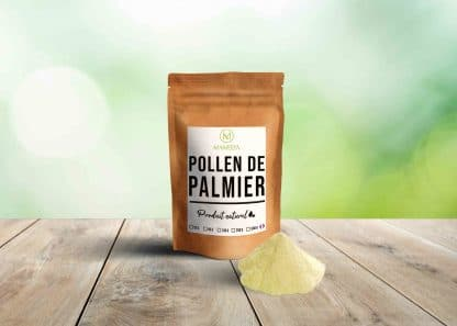 pollen de palmier bio