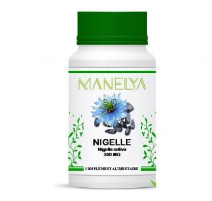 Gélules de nigelle (Sativa) 300mg / 60 gélules